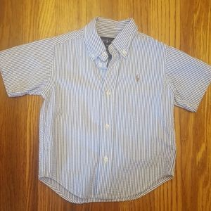 Ralph Lauren Polo Seersucker Button Down